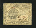 Colonial Notes:Continental Congress Issues, Continental Currency July 22, 1776 $7 Very Fine....