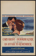 "Movie Posters:Romance, An Affair to Remember (20th Century Fox, 1957). Window Card (14"" X 22""). Romance. Starring Cary Grant, Deborah Kerr, Richard..."