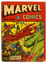 Marvel Mystery Comics #132-Page Issue With Variant Contents (Timely, 1943) Condition: VG