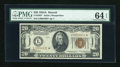 Small Size:World War II Emergency Notes, Fr. 2305* $20 1934A Hawaii Federal Reserve Note. PMG ChoiceUncirculated 64 EPQ.. ...