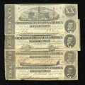 Confederate Notes:1863 Issues, T58 $20 1863. Four Examples.. ... (Total: 4 notes)