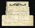 Miscellaneous:Other, Farmers and Mechanics' Bank. Four Checks.. ... (Total: 4 items)