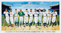 Baseball Collectibles:Others, 500 Home Run Club Multi-Signed Poster. ...