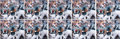Football Collectibles:Photos, Donovan McNabb Signed Oversized Photographs Lot Of 10....