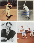 Autographs:Photos, New York Yankees Signed Photographs...