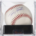 Autographs:Baseballs, Tori Hunter Single Signed Baseball PSA Mint 9....