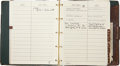 Music Memorabilia:Memorabilia, Sammy Davis Jr.'s Gucci Address Book. ...