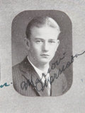 Movie/TV Memorabilia:Autographs and Signed Items, John Wayne Signed Yearbook. ...