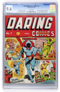 Golden Age (1938-1955):Superhero, Daring Mystery Comics #7 (Timely, 1941) CGC NM+ 9.6 Off-white pages....