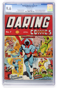 Daring Mystery Comics #7 (Timely, 1941) CGC NM+ 9.6 Off-white pages