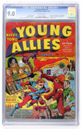 Golden Age (1938-1955):Superhero, Young Allies Comics #1 (Timely, 1941) CGC VF/NM 9.0 Off-white pages....