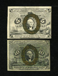 Fractional Currency:Second Issue, A Pair of Second Issue Fractionals:...
