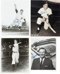 Autographs:Photos, New York Yankees Signed Photographs Lot Of 12. ... (Total: 12 item)