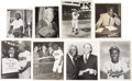 Baseball Collectibles:Photos, Jackie Robinson Collection Of Wire Photographs. ...