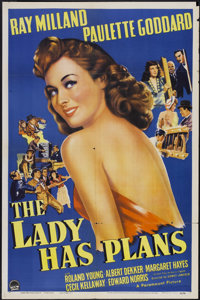 """The Lady has Plans (Paramount, 1942). One Sheet (27"""" X 41""""). Comedy"""