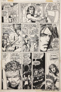 Original Comic Art:Panel Pages, Barry Smith and Tom Palmer Conan the Barbarian #8 page 9Original Art (Marvel, 1971)....