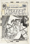 Original Comic Art:Covers, Michael W. Kaluta House of Mystery #212 Cover Original Art (DC, 1973).... (Total: 2 Items)