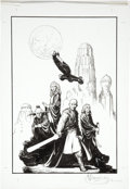 Original Comic Art:Covers, Mark Schultz Star Wars #14 Cover Original Art (Dark Horse,2000)....