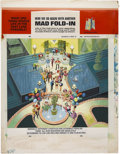 Original Comic Art:Splash Pages, Al Jaffee Mad #284 Fold-In Back Cover Original Art (EC,1989)....
