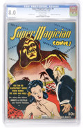 Golden Age (1938-1955):Miscellaneous, Super Magician Comics #8 (Street & Smith, 1942) CGC VF 8.0 Off-white pages. ...