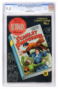 Golden Age (1938-1955):Classics Illustrated, Stories by Famous Authors Illustrated #1 The Scarlet Pimpernel --Vancouver pedigree (Seaboard Pub., 1950) CGC VF/NM 9.0 White...