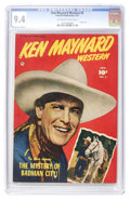 Golden Age (1938-1955):Western, Ken Maynard Western #5 (Fawcett, 1951) CGC NM 9.4 Off-white to white pages. ...