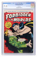 Golden Age (1938-1955):Horror, Forbidden Worlds #15 Mile High pedigree (ACG, 1953) CGC VF- 7.5White pages. ...