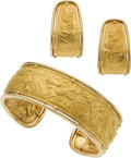 Estate Jewelry:Suites, Gold Jewelry Suite, Carrera y Carrera. ... (Total: 3 Items)