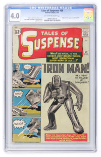 Tales of Suspense #39 (Marvel, 1963) CGC VG 4.0 Off-white to white pages