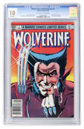 Modern Age (1980-Present):Superhero, Wolverine (Limited Series) #1 (Marvel, 1982) CGC MT 10 Off-white towhite pages....