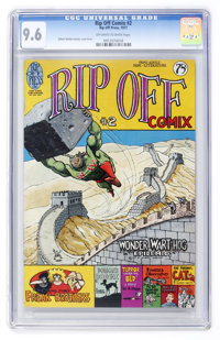 Rip Off Comix #2 (Rip Off Press, 1977) CGC NM+ 9.6 Off-white to white pages