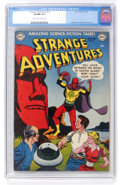 Golden Age (1938-1955):Science Fiction, Strange Adventures #16 (DC, 1952) CGC VF/NM 9.0 Cream to off-whitepages....