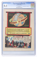 """Golden Age (1938-1955):Miscellaneous, Comic Cavalcade Giveaway #nn """"One Hundred Years of Co-Operation"""" (DC, 1944) CGC VF+ 8.5 Off-white to white pages...."""