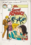 Original Comic Art:Miscellaneous, Secret Romance #42 Production Art (Charlton, 1979)....