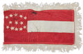 "Military & Patriotic:Civil War, Civil War Confederate ""Bible Flag.""..."