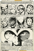 Original Comic Art:Panel Pages, John Byrne and Terry Austin X-Men #112 page 29 Original Art(Marvel, 1978)....