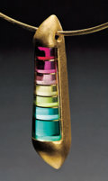 "Gems:Jewelry, ""SONAGIRI"" : ONE-OF-A-KIND TOURMALINE PENDANT. ..."