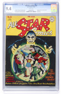 Golden Age (1938-1955):Superhero, All Star Comics #33 (DC, 1947) CGC NM 9.4 White pages....
