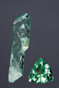 Gems:Faceted, RARE GEMSTONE: HIDDENITE. ...