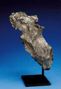 Meteorites:Irons, CANYON DIABLO METEORITE - NATURAL TABLETOP SCULPTURE FROM THE BEST PRESERVED METEORITE CRATER ON EARTH . ...