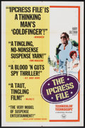"""Movie Posters:Thriller, The Ipcress File (Universal, 1965). One Sheet (27"""" X 41"""") Style B.Thriller.. ..."""