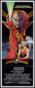 "Movie Posters:Science Fiction, Flash Gordon (Universal, 1980). Insert (14"" X 36""). Science Fiction.. ..."