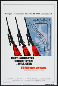 "Executive Action (National General, 1973). One Sheet (27"" X 41"") Style B. Thriller"
