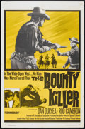 "Movie Posters:Western, The Bounty Killer (Embassy, 1965). One Sheet (27"" X 41""). Western....."
