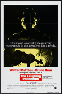 """The Laughing Policeman (20th Century Fox, 1973). One Sheet (27"""" X 41""""). Crime"""
