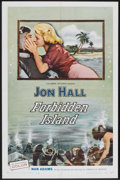 "Movie Posters:Adventure, Forbidden Island (Columbia, 1958). One Sheet (27"" X 41"").Adventure.. ..."