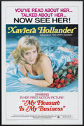 "Movie Posters:Sexploitation, My Pleasure Is My Business (Brian Distributing Corporation, 1975).One Sheet (27"" X 41""). Sexploitation.. ..."