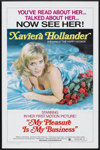 "My Pleasure Is My Business (Brian Distributing Corporation, 1975). One Sheet (27"" X 41""). Sexploitation"