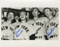 Autographs:Photos, New York Yankee Stars Signed Photograph....