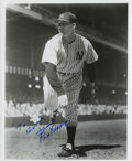 Autographs:Photos, Red Ruffing Signed Photograph. ...